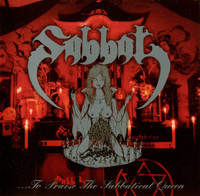 Sabbat ‎– ...To Praise The Sabbatical Queen (CD, New)