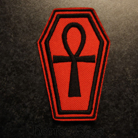 Ankh patch red