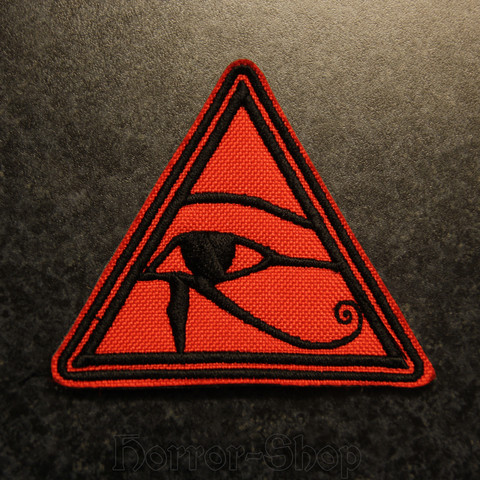 Eye of the Horus patch, Red