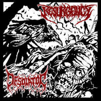 Resurgency / Desolator ‎– Dark Revival / Mass Human Pyre (CD, Used)