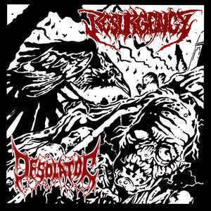 Resurgency / Desolator ‎– Dark Revival / Mass Human Pyre (used)