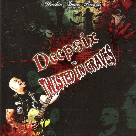 Deepsix vs. Twisted In Graves ‎– Deepsix vs. Twisted In Graves (used)