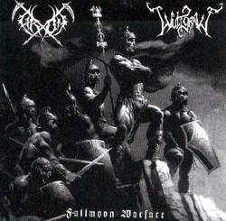 Grom / Wulfgravf ‎– Fullmoon Warfare split (used)
