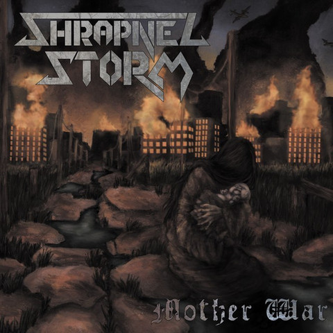 Shrapnel Storm ‎– Mother War (CD, Used)