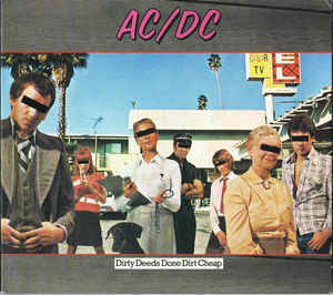 AC DC ‎– Dirty Deeds Done Dirt Cheap (used)