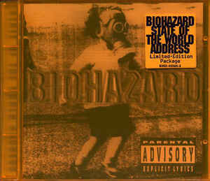 Biohazard ‎– State Of The World Address (CD, Used)