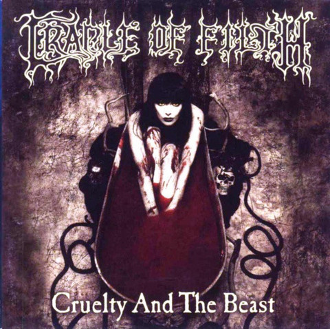 Cradle Of Filth ‎– Cruelty And The Beast (CD, Käytetty)