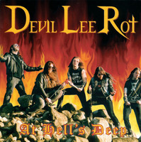 Devil Lee Rot ‎– At Hell's Deep (CD, Used)