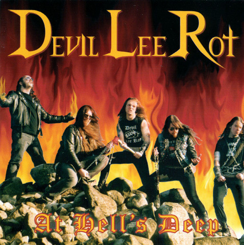 Devil Lee Rot ‎– At Hell's Deep (used)