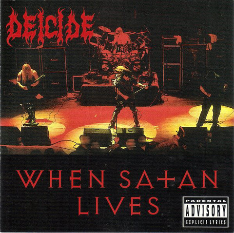Deicide ‎– When Satan Lives (used)