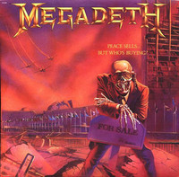 Megadeth ‎– Peace Sells... But Who's Buying? (käytetty)