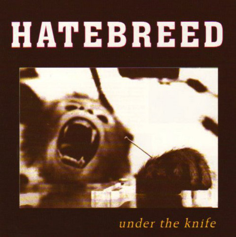Hatebreed ‎– Under The Knife (käytetty)