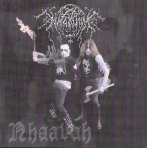 Nhaavah ‎– The Kings Of Czech Black Metal + Determination - Detestation - Devastation (used)