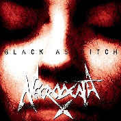 Necrodeath ‎– Black As Pitch (CD, Used)