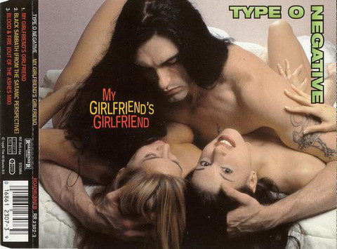 Type O Negative ‎– My Girlfriend's Girlfriend (used)