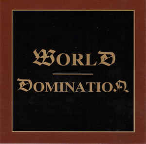 Various ‎– World Domination (used)