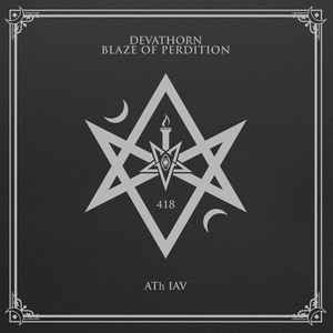 Devathorn & Blaze Of Perdition ‎– 418 - ATh IAV (new) Vinyl LP