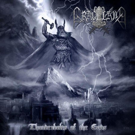 Graveland ‎– Thunderbolts Of The Gods (uusi) Vinyl LP