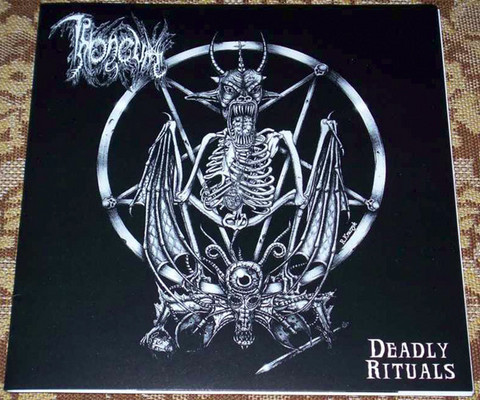 Throneum, Lord Blasphemer ‎– Deadly Rituals (käytetty) 7