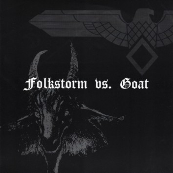 Folkstorm vs. Goat ‎– Split (used) 7