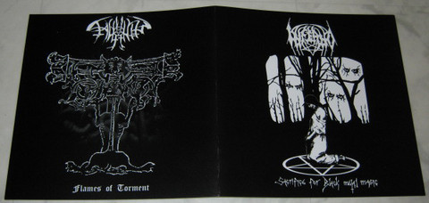 Inferno, Fagyhamu ‎– Sacrifice For Black Metal Magic, Flames Of Torment (used) 7