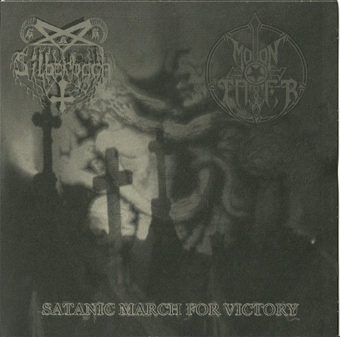 Silberbach, Moontower ‎– Satanic March For Victory (used) 7