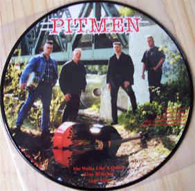 Pitmen ‎– She Walks Like A Queen (used) 7