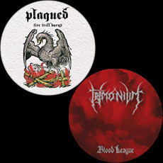 Trimonium, Plagued ‎– Blood League, Fire Still Burns (käytetty) 7