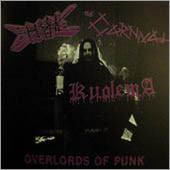 The Carnival, Creepy Crawlie, Kuolema ‎– Overlords Of Punk (used) 7