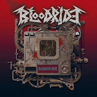 Bloodride ‎– Bloodmachine (used, signed by the band)