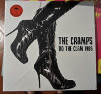 The Cramps ‎– Do The Clam 1986, LP (uusi)