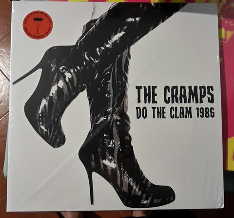 The Cramps ‎– Do The Clam 1986, LP vinyl (new)