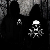 Tattoo Skull Hoodie with zipper