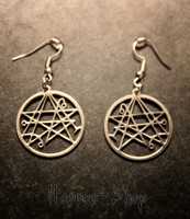 Necronomicon Gate Earrings