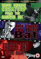 3 Classic Horror Of the Silver Screen Vol. 5 (used)