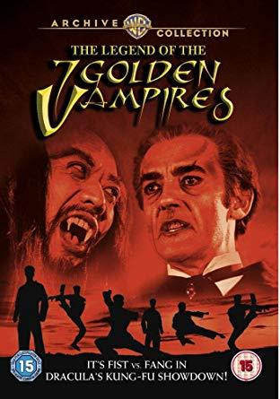 The Legend Of The 7 Golden Vampires (used)