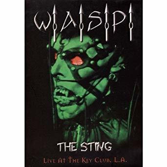 W.A.S.P. - The Sting - Live at The Key Club (käytetty)