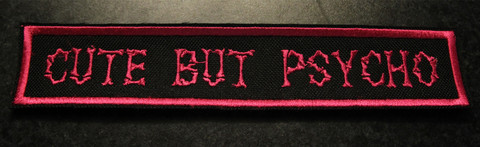Cute but psycho - Pink (Patch)