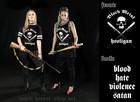 Black Metal Hooligan basketball shirt for ladys
