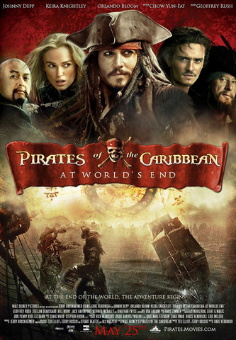 Pirates of the Caribbean - Maailman Laidalla (2-Disc edition) (used)