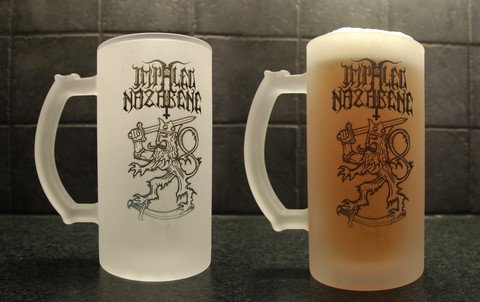 Impaled Nazarene Beer Mug 2pc.