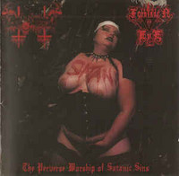 Anal Blasphemy / Forbidden Eye ‎– The Perverse Worship Of Satanic Sins (CD, New)