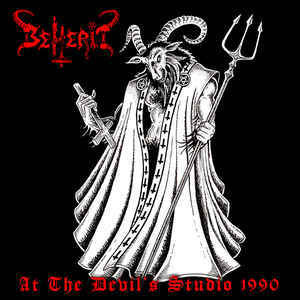 Beherit ‎– At The Devil's Studio 1990 (CD, New)