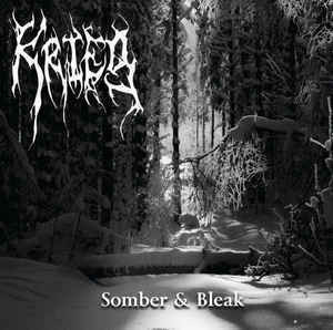 Krieg ‎– Somber & Bleak (CD, New)