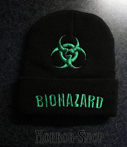 Biohazard Winter beanie