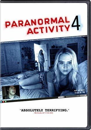 Paranormal Activity 4 (used)