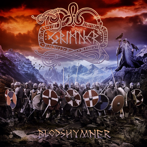 Grimner - Blodshymner (CD, New)