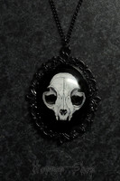 Cat Skull Cameo, big
