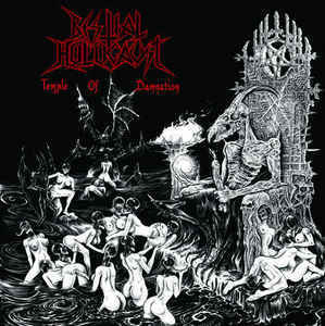 Bestial Holocaust ‎– Temple Of Damnation LP (new)