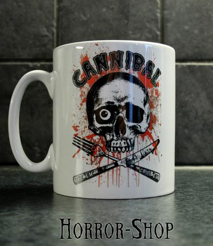 Cannibal - kill em, grill em -mug